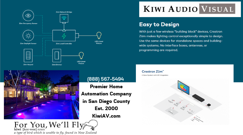 Lighting Control made easy- ZUM -available through Kiwi AV.