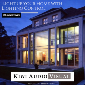 Lighting control in Rancho Santa Fe? Call (888) 567-5494 for a FREE Consultation from Kiwi Audio Visual.