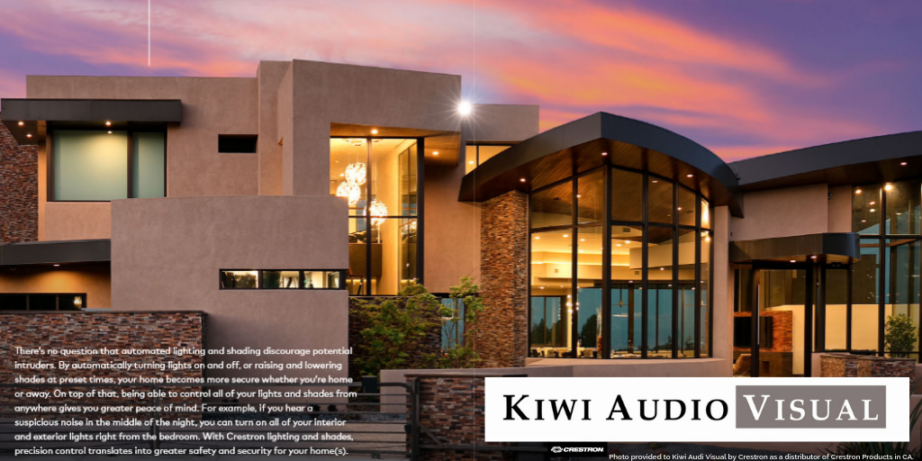 Kiwi Audio Visual is #1 Choice for Home Automation in San Diego.