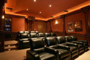 Custom Home Theater Rancho Santa Fe